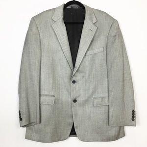 MENS: 100% Silk Chereskin Sport Coat Blazer Jacket
